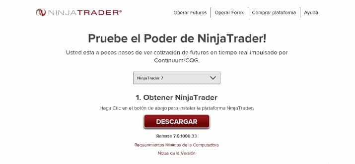cómo configurar ninja trader imagen 4